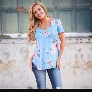 Tops - Last one Women's Summer Floral print